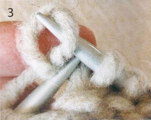 Вязание шапки улитки спицами (фото 3)