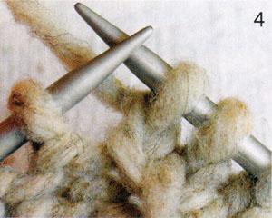 Вязание шапки улитки спицами (фото 4)