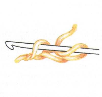 Двойная цепочка из воздушных петель (фото 1)