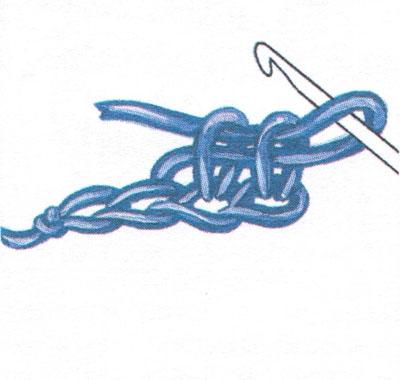 Столбик без накида (фото 3)